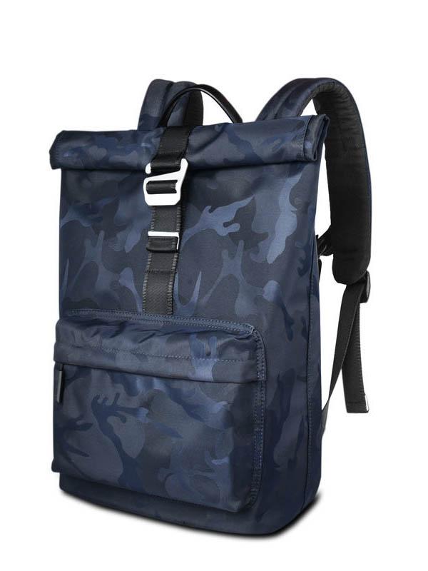 Рюкзак Wiwu 15.4-inch Vigor Backpack Camo Blue 6957815510559