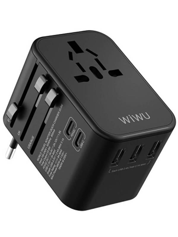 Зарядное устройство Wiwu Universal Adapter UA303 White 6957815514496