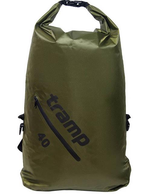 Гермомешок Tramp Diamond Rip-Stop TRA-257 40L Olive гермомешок tramp diamond ripstop tra 110 5l orange