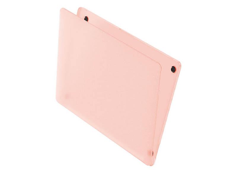 Аксессуар Чехол Wiwu для APPLE MacBook 12 iShield Hard Shell Pink 6957815513468