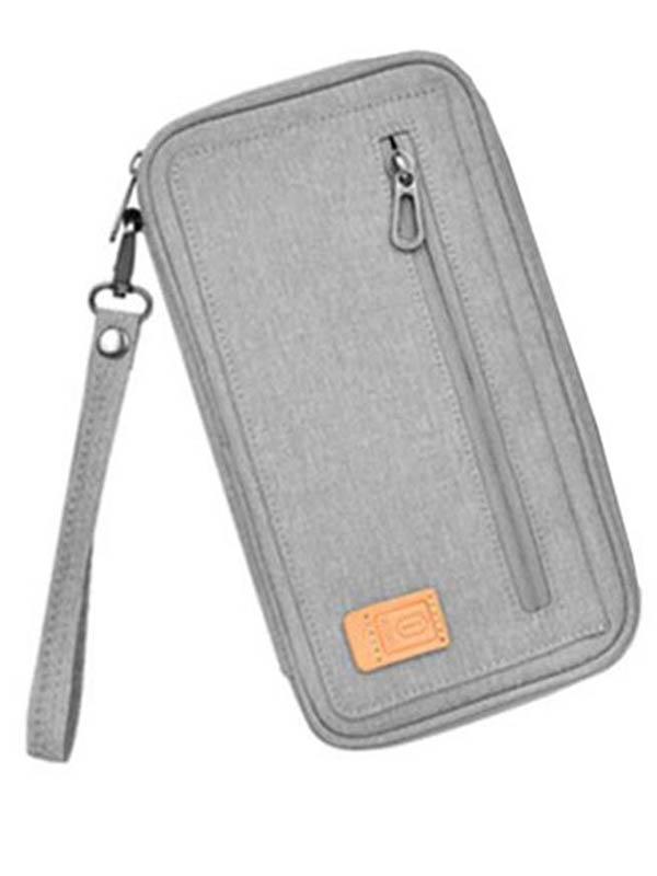 Органайзер Wiwu Pioneer Passport Pouch Grey 6957815511440