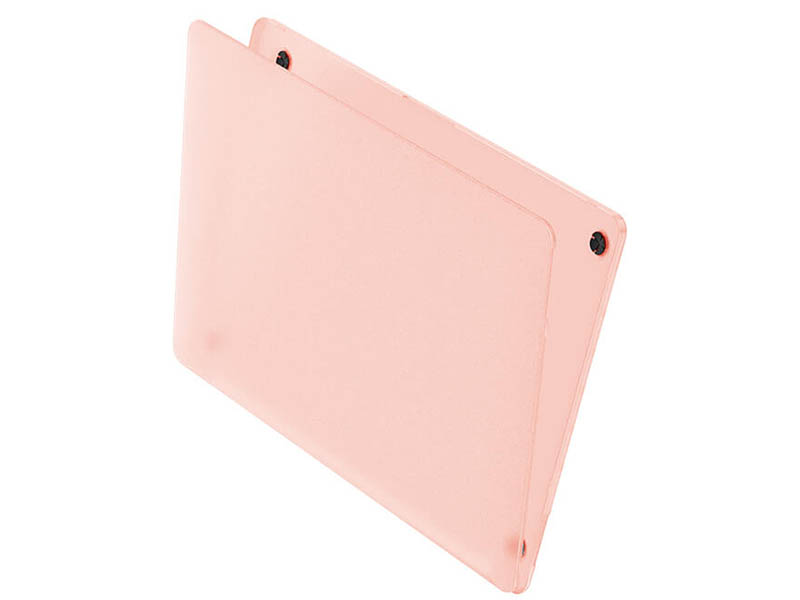 Аксессуар Чехол Wiwu для APPLE MacBook 15.4 iShield Hard Shell Pink 6957815513406