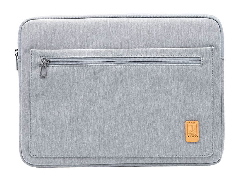 Чехол-папка 14.0-inch Wiwu Pioneer Laptop Sleeve Grey 6957815512133