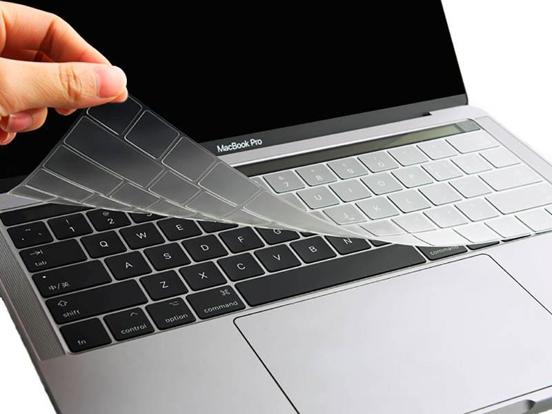 Аксессуар Защитная пленка для клавиатуры Wiwu для APPLE MacBook Touch Bar 13 TPU Key Board Protector Transparent 6957815505340 ikea leaves ecola apple ноутбук ручная клавиатура защитная пленка для клавиатуры macbook air серия 11 6 дюймов для ярлыков версия для mac ea012s