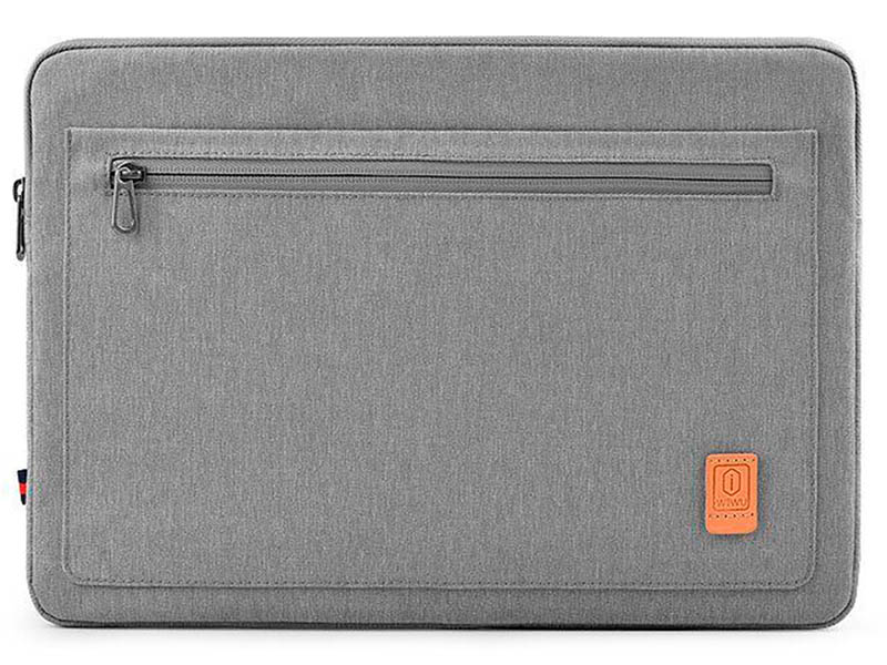 Чехол-папка 15.4-inch Wiwu Pioneer Laptop Sleeve Grey 6957815512157