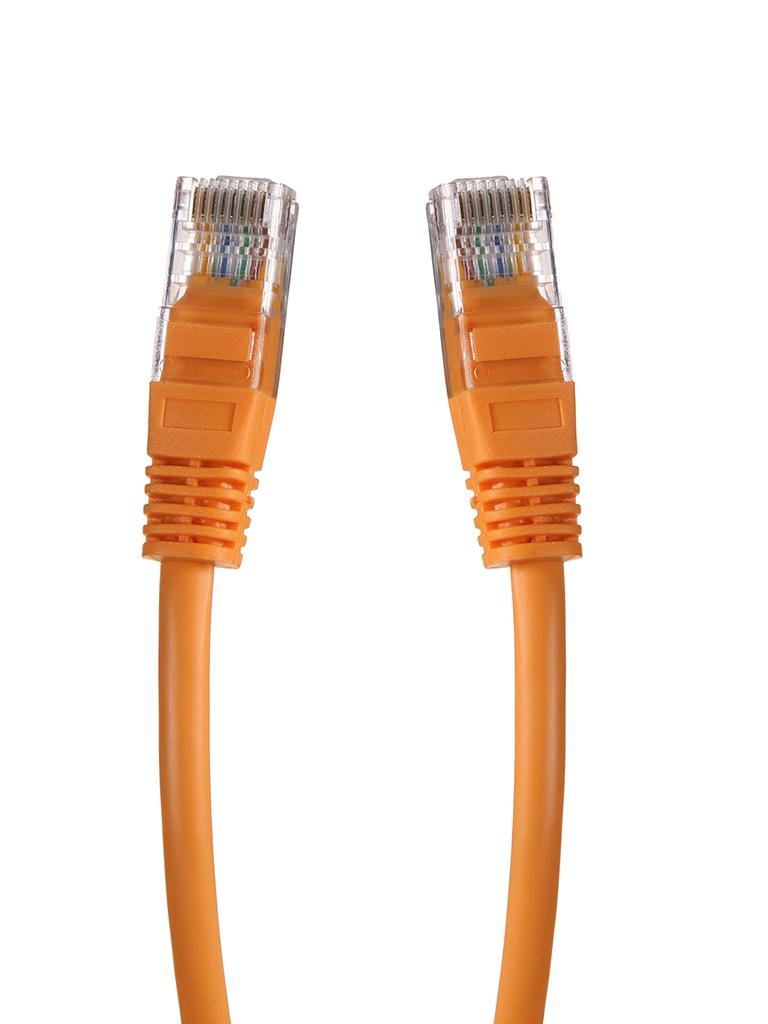 Сетевой кабель Gembird Cablexpert UTP cat.5e 1.5m Orange PP12-1.5M/O