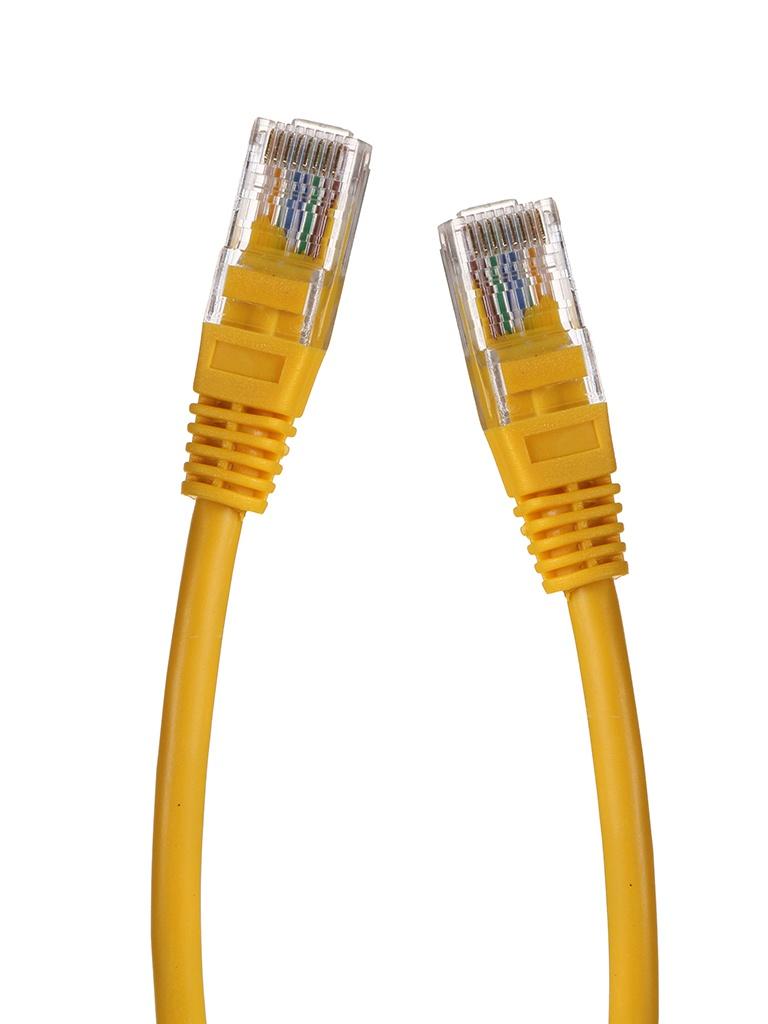 Сетевой кабель Gembird Cablexpert UTP cat.5e 15m Yellow PP12-15M/Y