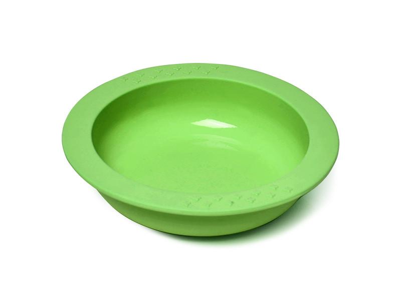 Глубокая тарелка Fissman Kids 9589 Green