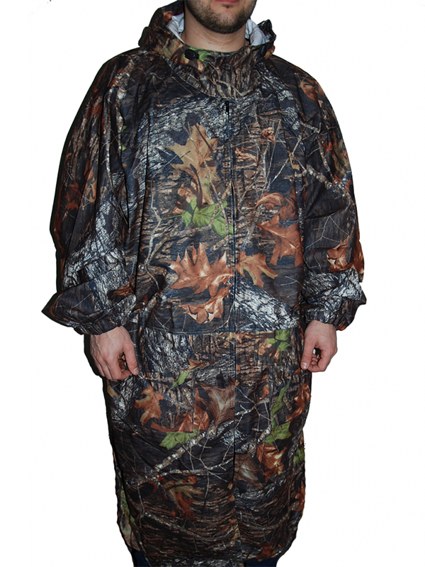 Плащ Чайка Рыбака-М Темный лес р.56-58 костюм чайка горка 3 рептилия р 56 58