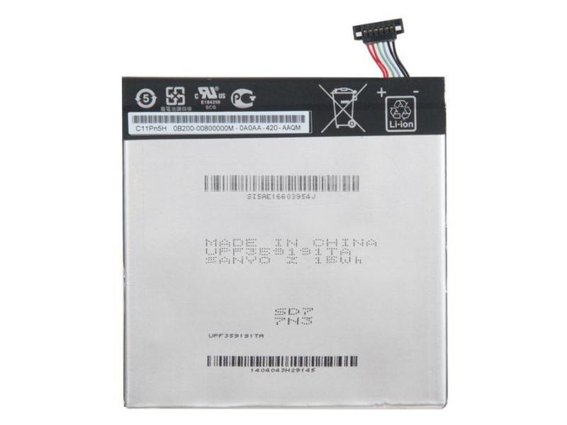 Аккумулятор RocknParts (схожий с C11P1304) для Asus MeMO Pad HD7 ME173X/MeMO 8 ME180A/VivoTab M80T/M81C/ZenPad S Z580C/Z580CA 3.85V/15WH 623951