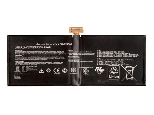 Аккумулятор RocknParts (схожий с C12-TF600T) для ASUS VivoTab RT TF600T/TF303CL 705471