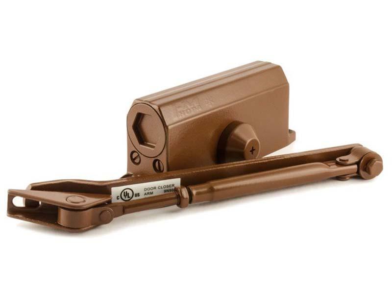 Доводчик дверной Нора-М №2S (до 50кг) Brown 15885
