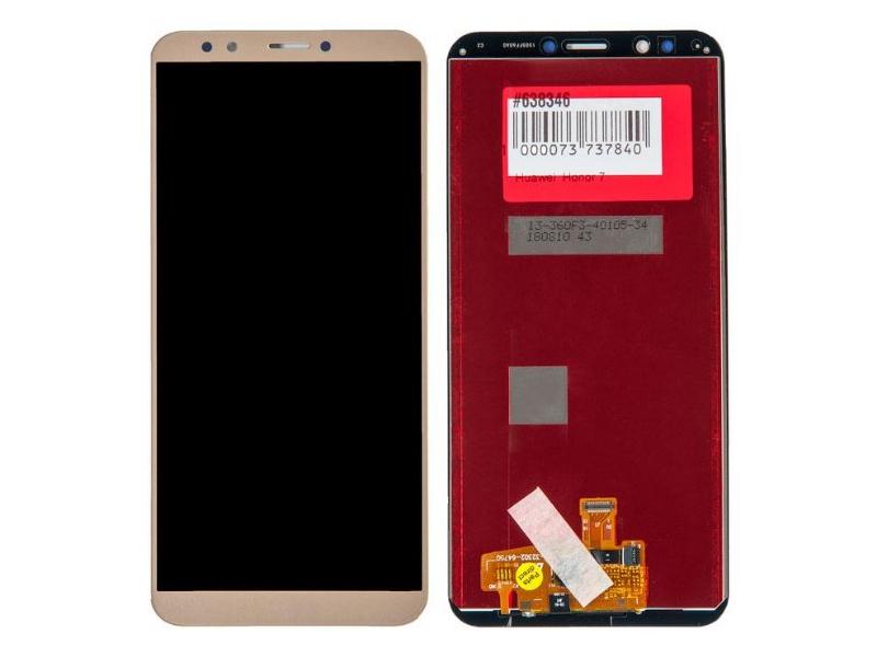 Дисплей RocknParts для Huawei Honor 7С Pro в сборе с тачскрином Gold 638346