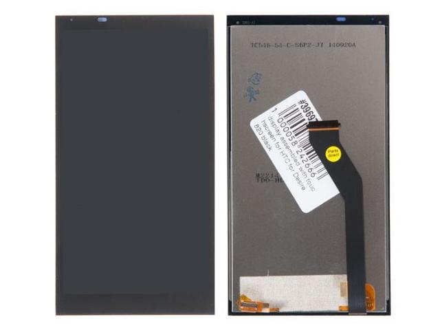 Дисплей RocknParts для HTC Desire 820 в сборе с тачскрином Black 396976