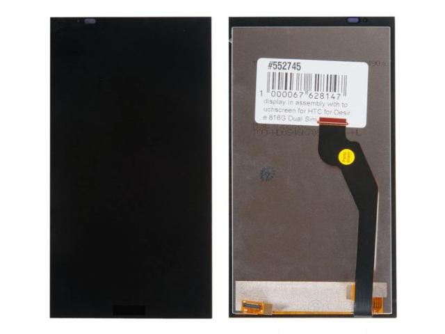 Дисплей RocknParts для HTC Desire 816G Dual Sim в сборе с тачскрином Black 552745