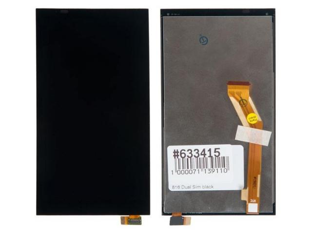 Дисплей RocknParts для HTC Desire 816 Dual Sim в сборе с тачскрином Black 633415