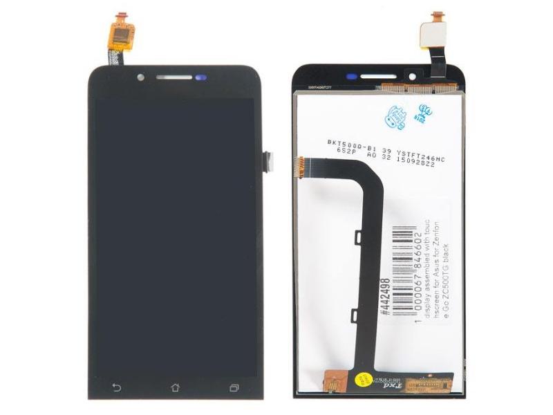 цена на Дисплей RocknParts для ASUS ZenFone Go ZC500TG в сборе с тачскрином Black 442498
