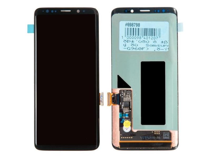 Дисплей RocknParts для Samsung Galaxy S9 (SM-G960F) в сборе с тачскрином Black 698798