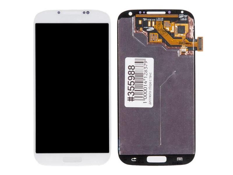 Дисплей RocknParts для Samsung Galaxy S4 (GT-I9500) в сборе с тачскрином White 355988
