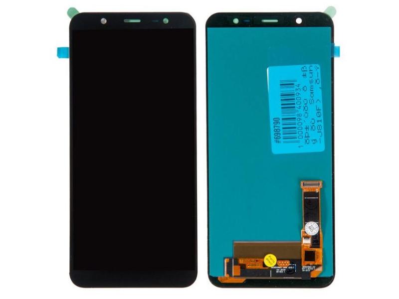 Дисплей RocknParts для Samsung Galaxy J8 (SM-J810F) в сборе с тачскрином Black 698790