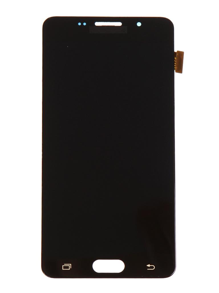 Дисплей RocknParts для Samsung Galaxy A5 (SM-A510F) в сборе с тачскрином Black 655452