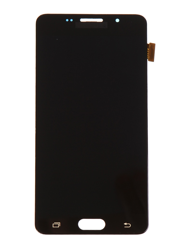 Дисплей RocknParts для Samsung Galaxy A5 (SM-A510F) в сборе с тачскрином Black 655452 защитная плёнка для samsung galaxy a5 2016 sm a510f front