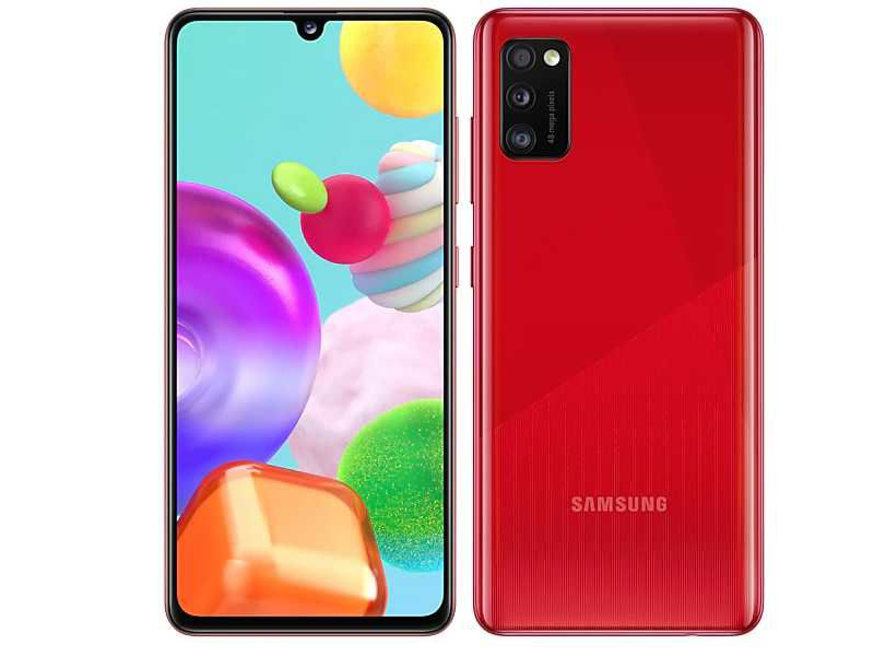 Сотовый телефон Samsung SM-A415F Galaxy A41 4Gb/64Gb Red Выгодный набор + серт. 200Р!!! сотовый