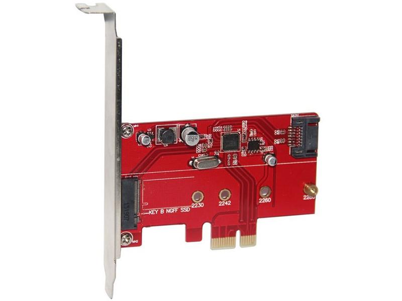Контроллер Orient A1061S-M2 PCI-Ex v2.0 - 2int x SATA3.0 SATA M.2 + oem 30289