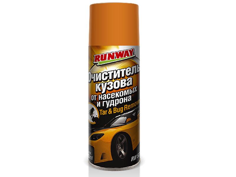 Очиститель кузова от насекомых и гудрона Runway 450ml RW6089