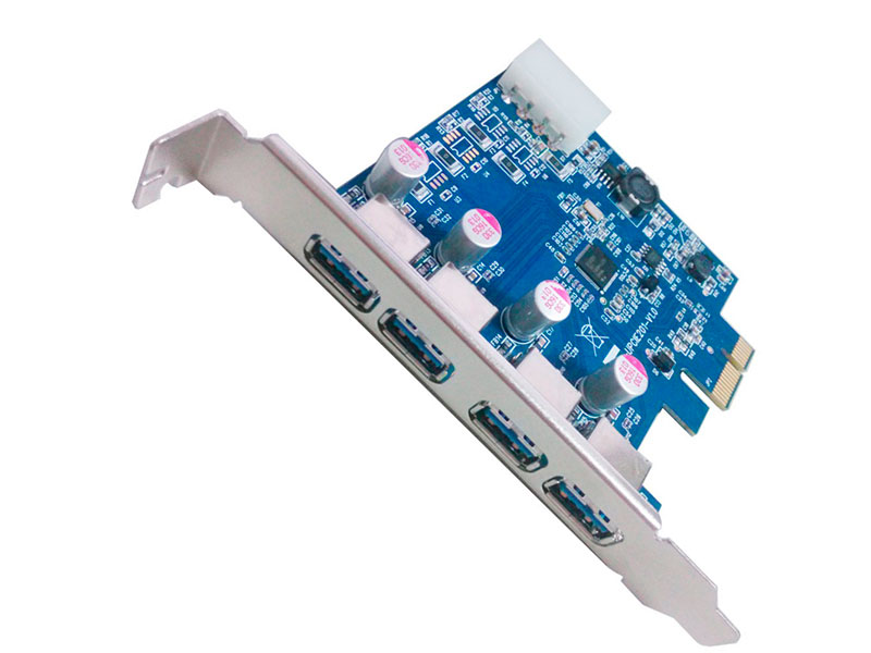 Контроллер Orient NC-3U4PE PCI-Ex - 4ext x USB 3.0 oem 30287