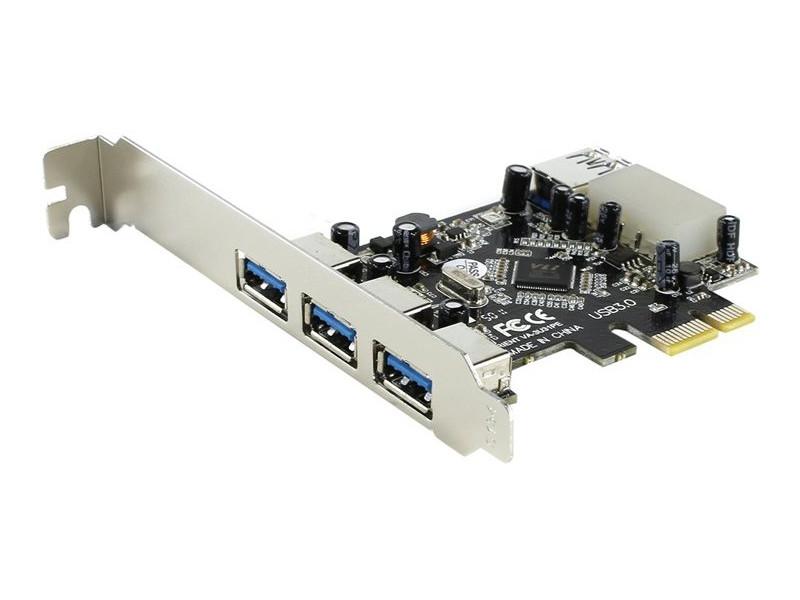Контроллер Orient VA-3U31PE PCI-Ex - 3ext+1int x USB 3.0 29327