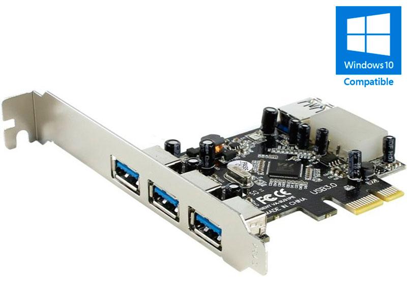 Контроллер Orient VA-3U31PE PCI-Ex - 3ext+1int x USB 3.0 oem 29833