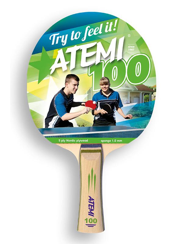 Ракетка для настольного тенниса Atemi 100CV