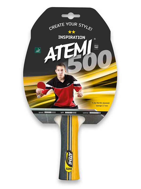 Ракетка для настольного тенниса Atemi 500CV