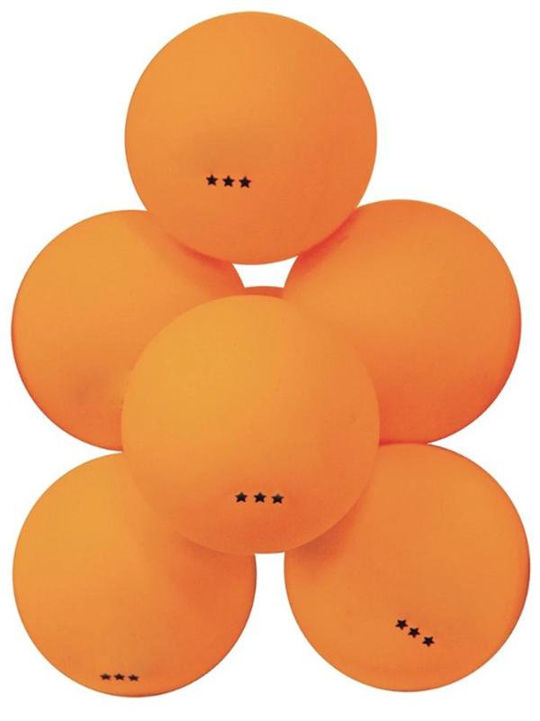 Мячи для настольного тенниса Atemi 3 6шт Orange ATB36O
