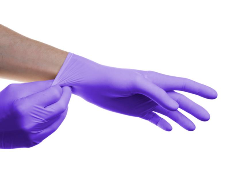 Перчатки нитриловые SFM смотровые, нестерильные 5 перчатки sfm смотровые нестерильные латексные р m 50 пар
