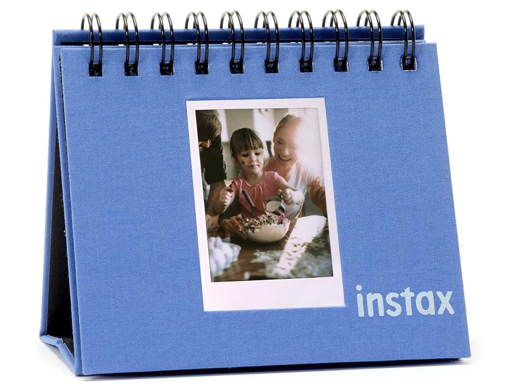 Фото - Фотоальбом Fujifilm Instax Mini 9 Twin Flip Album Cobalt Blue 70100139048 фотоальбом fujifilm instax mini 9 twin flip album lime green 70100139056