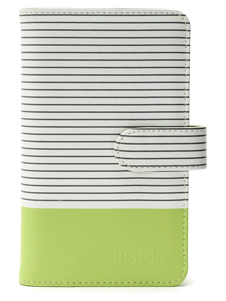 Фотоальбом Fujifilm Instax Mini 9 Striped Album Lime Green 70100139060