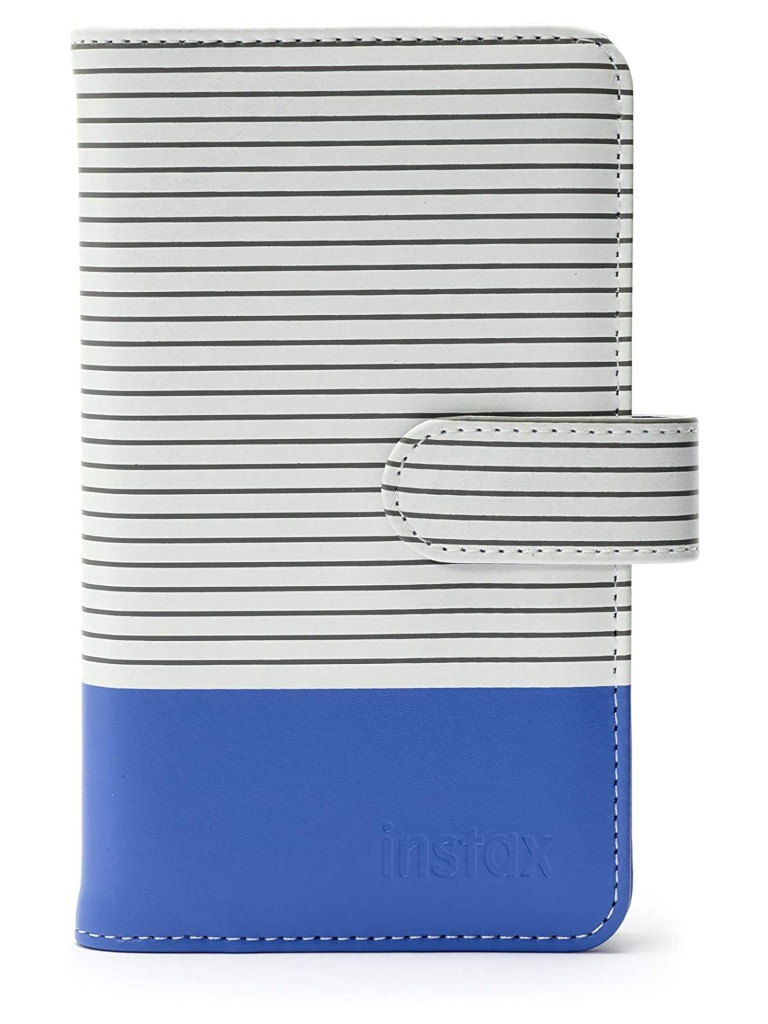 Фотоальбом Fujifilm Instax Mini 9 Striped Album Cobalt Blue 70100139049