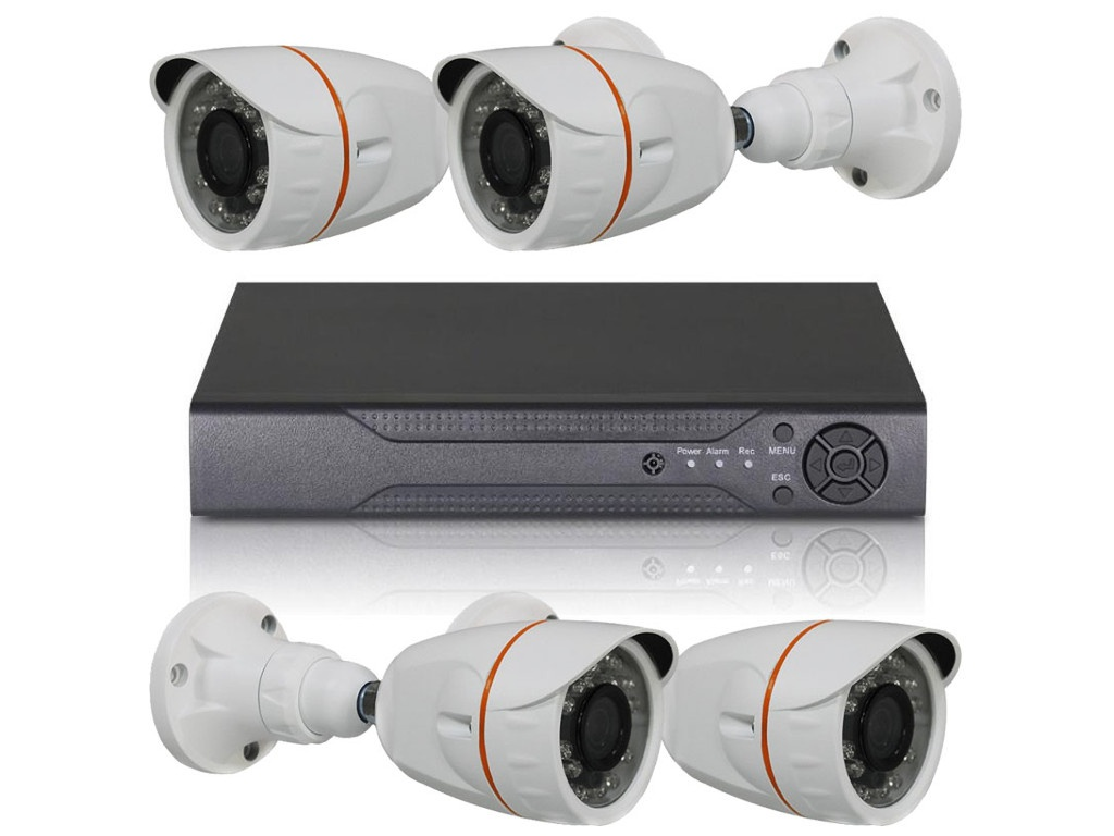 Комплект видеонаблюдения Orient XVR+4B/720p 30721