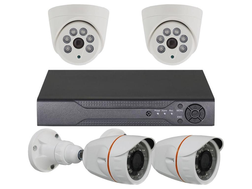 Комплект видеонаблюдения Orient XVR+2D+2B/720p 30722
