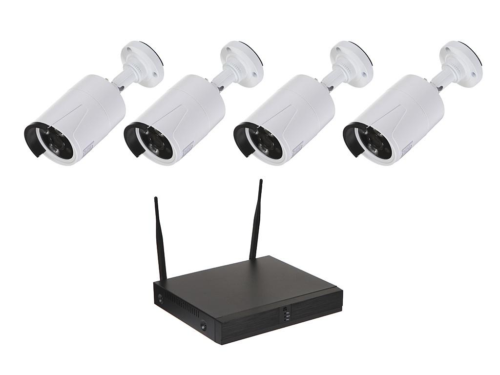 Комплект видеонаблюдения Orient NVR+4IPC 720p Wi-Fi 30260