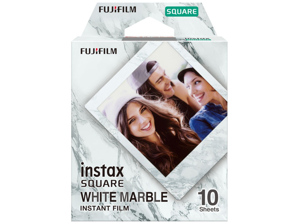 Fujifilm Instax Square WW1 10/PK White Marble для 16656473