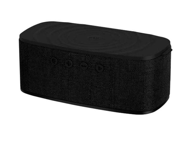 Колонка Momax Q.Zonic Wireless Charging Bluetooth Speaker QS1D Black