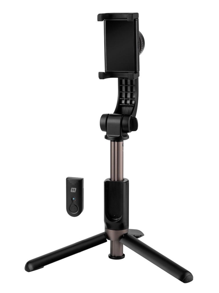 Монопод Momax Selfie Stable Smartphone Gimbal With Tripod KM13D Black
