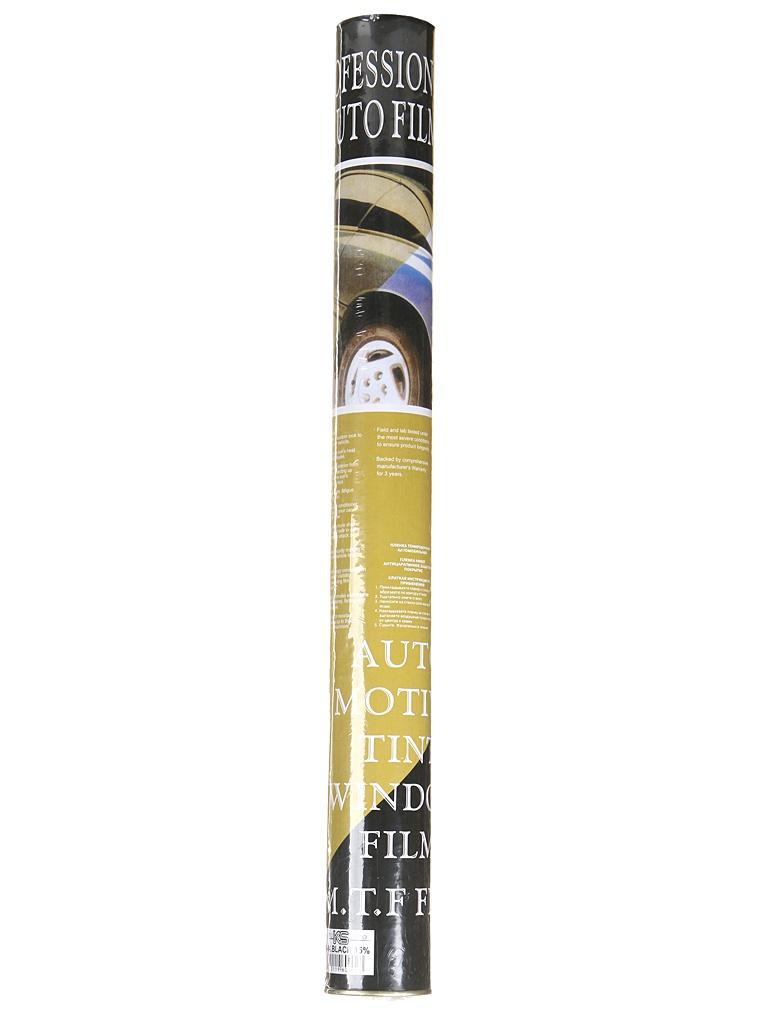 Пленка тонировочная KS антицарапинная, американка 0.5x3m 15% Black пленка