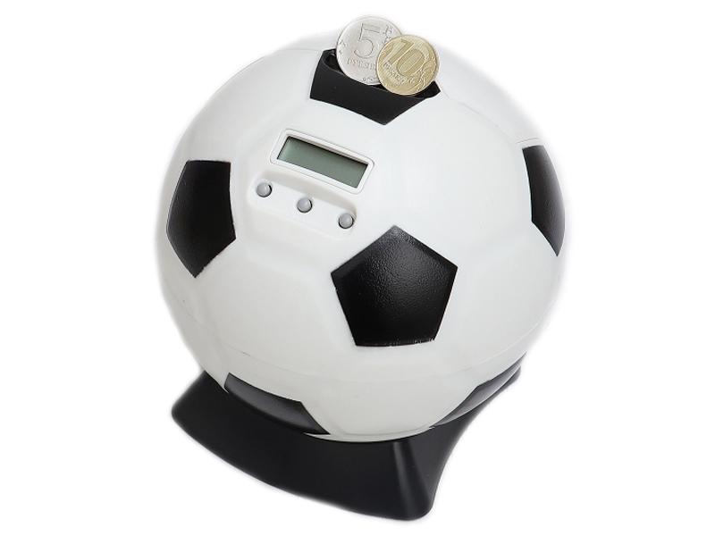 Копилка для денег Эврика Футбольный мяч 99689