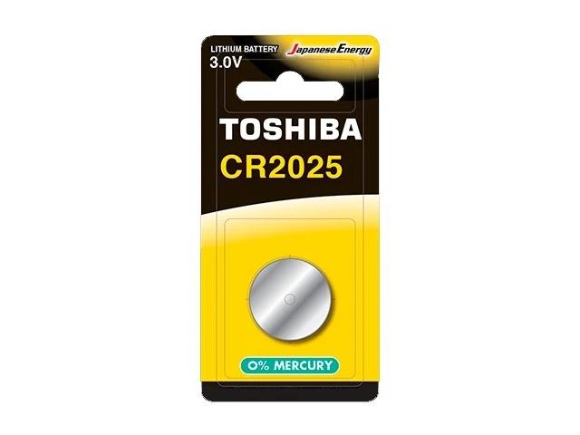 Батарейка CR2025 - Toshiba BP-1C (1шт)