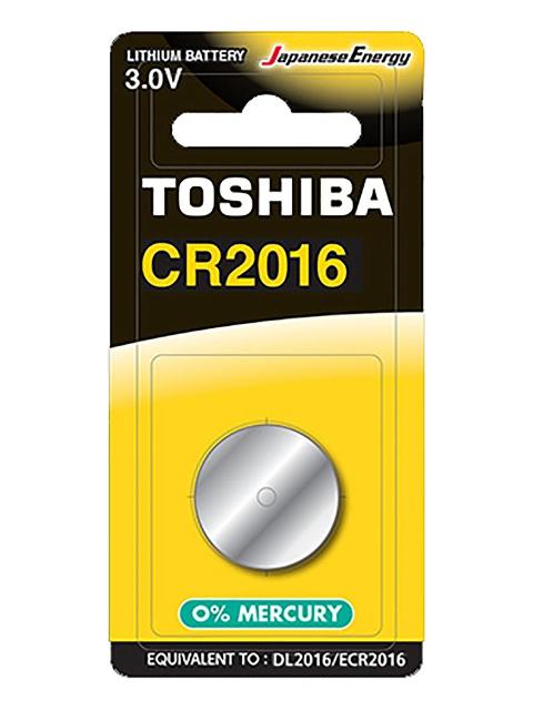 Батарейка CR2016 - Toshiba BP-1C (1шт)