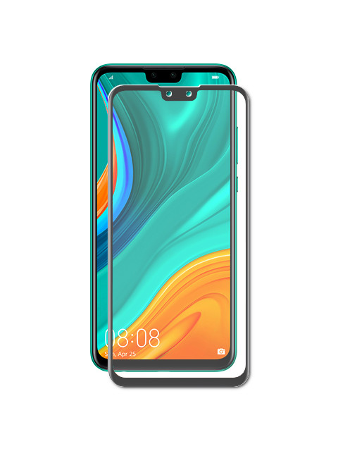Защитный экран Red Line для Huawei Y8s Full Screen Tempered Glass Full Glue Black УТ000020707